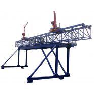 Passerelle et grues de manutention - Mt concept - Masse totale : 5,8 tonnes