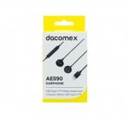 Dacomex ecouteurs ae590 avec micro type c réf.59837