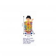 58011 (h104507) - présentoir comptoir mini hariboy 9 boîtes haribo