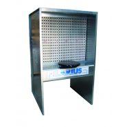 Cabine de peinture sur pied a filtre sec standard - cast1000 - cast2000
