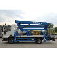 Zed 26 j camion nacelle - cte - 26 m