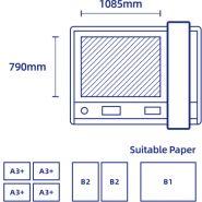 Table de découpe à plat numérique  fc700vc