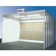 Cabine de peinture liquide - ventilation horizontale (cs - cabine ouverte)