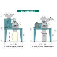 F3 - broyeurs et concasseurs alimentaires - electra - poids 150 kg