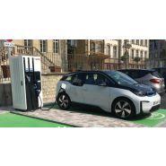 Fasteo ac/dc 4 en 1 bornes de recharge pour voiture electrique - maec - recharge 100 kw : 600 kms en 1h