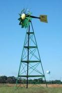 éoliennes pour l'aération ou le pompage d'eau des étang