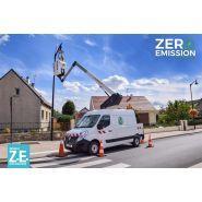 26 master ze - fourgon nacelle - klubb - hauteur de travail 11,80 m
