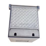 Borne 9350 - borne escamotable électrique - aireservices - 1 à 4 prises ip67 mono - assistance à l'ouverture et à la fermeture par vérin à gaz