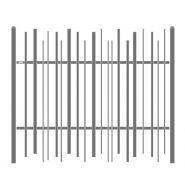 Univers stem - clôture métallique - lippi - hauteur 1 à 2 m
