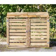 Cache-conteneurs et abris poubelle - anima jardin - en bois autoclavé