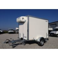 Wm meyer - remorque frigorifique - carrosserie cavalcar - poids à vide 580 kg