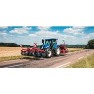 T6.125 s deluxe tracteur agricole - new holland - puissance maxi 92/125 kw/ch