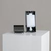 Distributeur de savon streamline noir sku: h-776-zd01