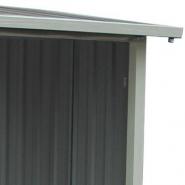 3610 - abri buches en métal anthracite 6 stères x-metal