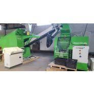 Ligne guidetti pour le recyclage du cable - récupération cuivre et aluminium