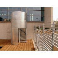 Escalier hélicoïdal perfocage - l'hélicoidal