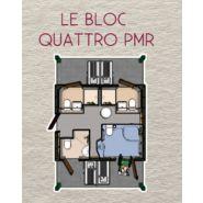 Sanitaires publics extérieurs PMR Sanilodge Quatro / 4 cabines