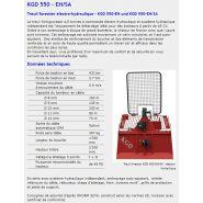 Kgd 450 eh/sa - treuil forestier - königswieser - poids sans câble 397 kg
