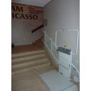 Plateforme monte-escaliers (pour escaliers tournants) slim