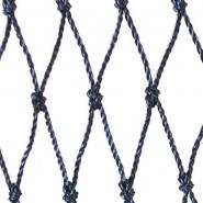 Filet | maille de 12mm | polyéthylène (pe) | longueur 2000 mailles x hauteur 199,5 mailles | noir