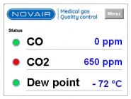 Analyseur qualité des gaz pharmagas