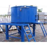 Malaxeur 1400 litres à arbre vertical