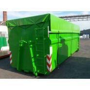 Abr-lwc - benne à déchets - elkoplast - capacité de 38 m3