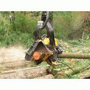 H10 - tête d'abattage - ponsse sa - poids minimum 2600 kg