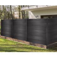 Claustra beliz - clôture en composite - mister menuiserie - dimensions : h187 x l200 cm - mms-claustra-beliz