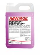 Detartrant desinfectant -avantage