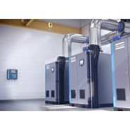 Surpresseur d'air centrifuge sans huile zb vsd+ - atlas copco gontrols - débit d'air libre 556 à 3083 l/s - pression de service 0.3 à 1.4 bar
