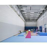 Rideau de séparation pour salles de sport, salles polyvalentes t1000