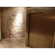Desserte en equerre - Ascenseurs classiques - Oleolift - Charge utile de 800 Kg