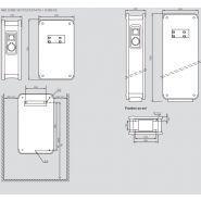 059001  green'up premium  monophasée plastique bornes de recharge pour voiture electrique - legrand - mode 3 - 7,4kw - 1 port- ip44 ik08 - 32a