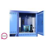 Paralocker xl - armoire de stockage et rechargement 8 casiers