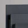 Présentoir de brochures de luxe - noir sku: f-794-02
