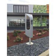 Borne de recharge pour véhicule électrique  - statio'elec s