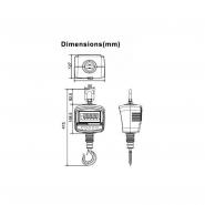 Dynamomètre dr -dynamometre - peson - crochet-peseur