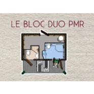 Sanitaires publics extérieurs PMR  Sanilodge DUO / 2 douches / 2 cabines