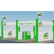 Stations de lavage Platine - Oki - Débit 11 l/min - Pression 140 bars
