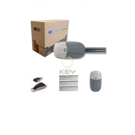 Kit motorisation pour porte de garage kvip10er pour porte sectionnelle avec bouton poussoir - Motorisation porte de garage sectionnelle ...