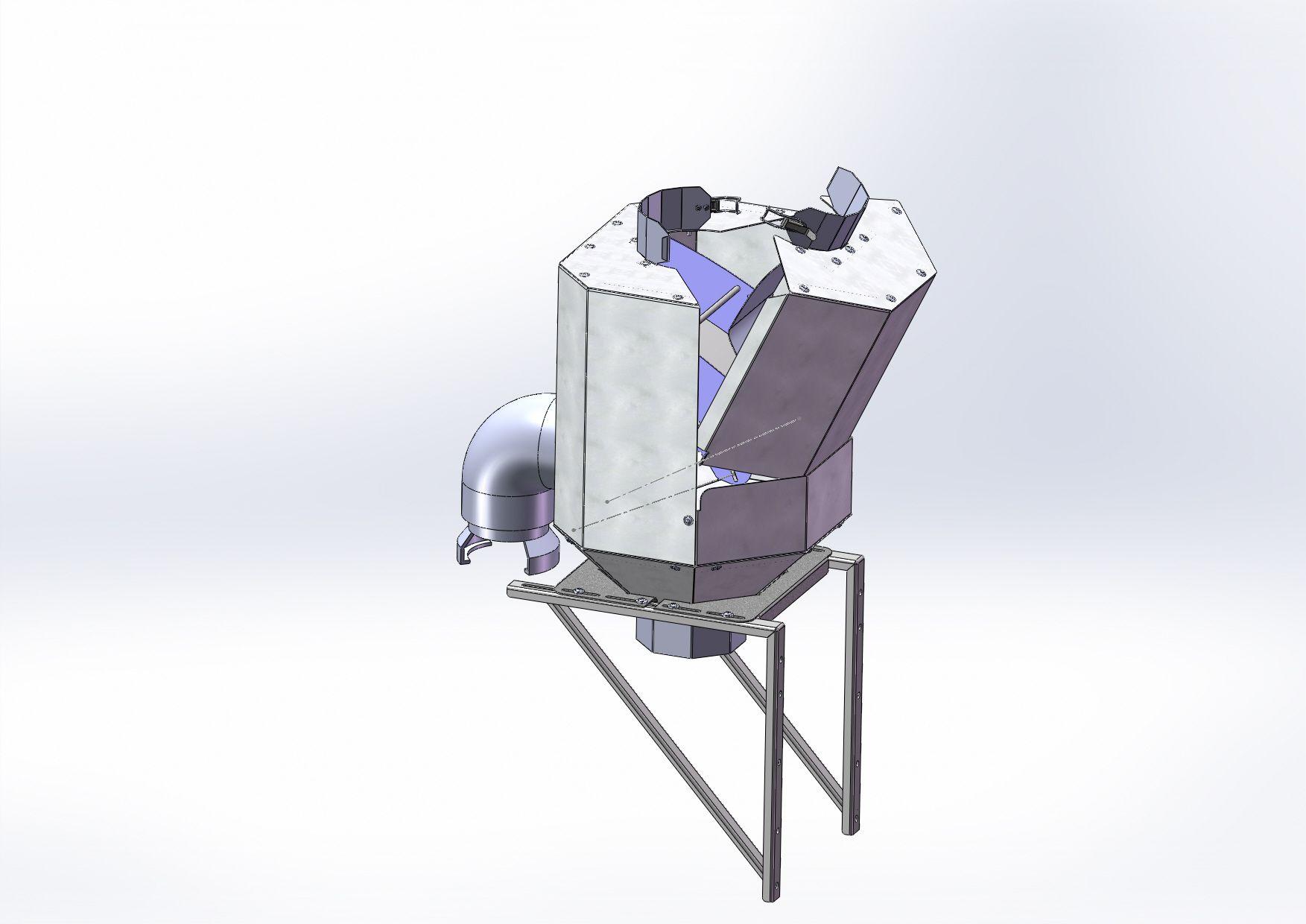 FILTRE EAU DE PLUIE INOX VERTIMAX XL - POUR DESCENTES D200