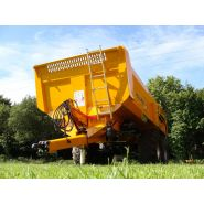 Rollroc 5300 - bennes tp - rolland - charge utile approximative 17900 kg