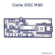 CARTE OSC - MIDI