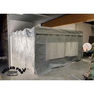 Cabine peinture rétractable démontable automobile : retra-flex | sellerpro