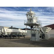 Eba 1250 centrale à béton - frumecar - 60 m³/h