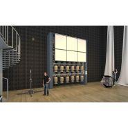 Carrousel rotatif vertical mécanique pour projecteur