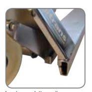Pip20582 pather inox (pi) - transpalette manuel - logitrans - 810 mm à 1520 mm