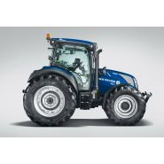 T5.130 auto command tracteur agricole - new holland - puissance maxi 96/130 kw/ch