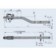 200 351 08 - timon pour remorque - dexko global - version a1 cote a 2650 mm
